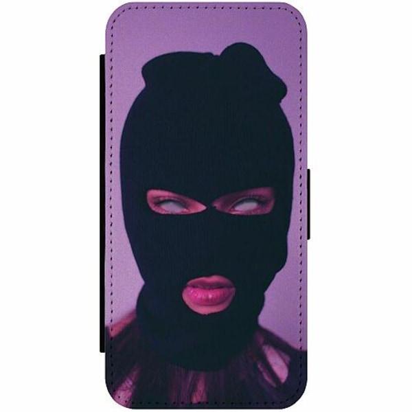Apple iPhone 12 Pro Max Wallet Slimcase Purple Mask