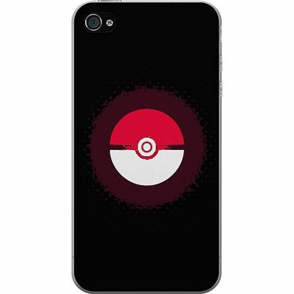 Apple iPhone 4 / 4s Mjukt skal - Pokemon