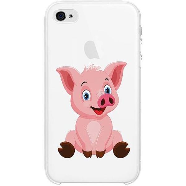 Apple iPhone 4 / 4s Thin Case  Piggy