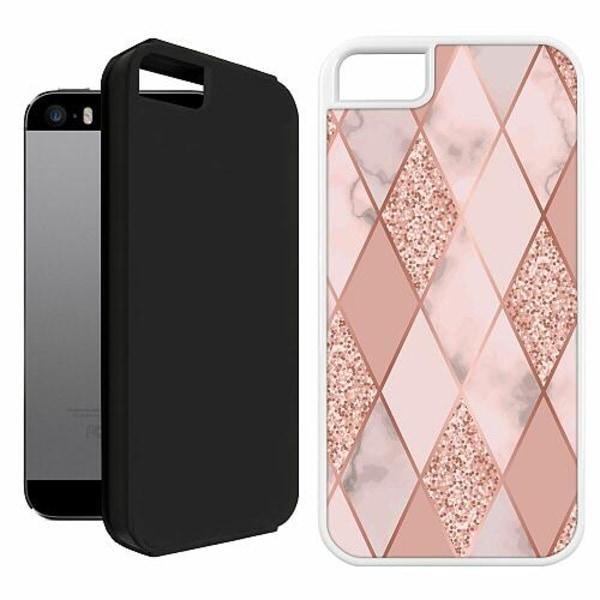 Apple iPhone 5 / 5s / SE Duo Case Vit Slightly Sophisticated