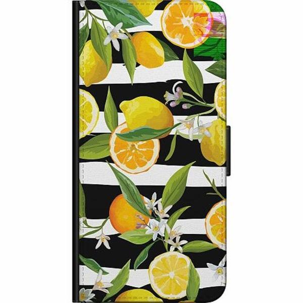 Apple iPhone 5 / 5s / SE Fodralväska Lemon Party