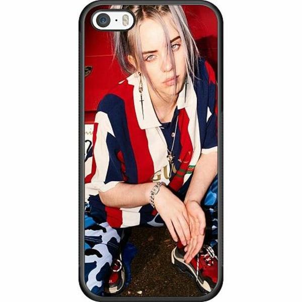 Apple iPhone 5 / 5s / SE Soft Case (Svart) Billie Eilish 2021