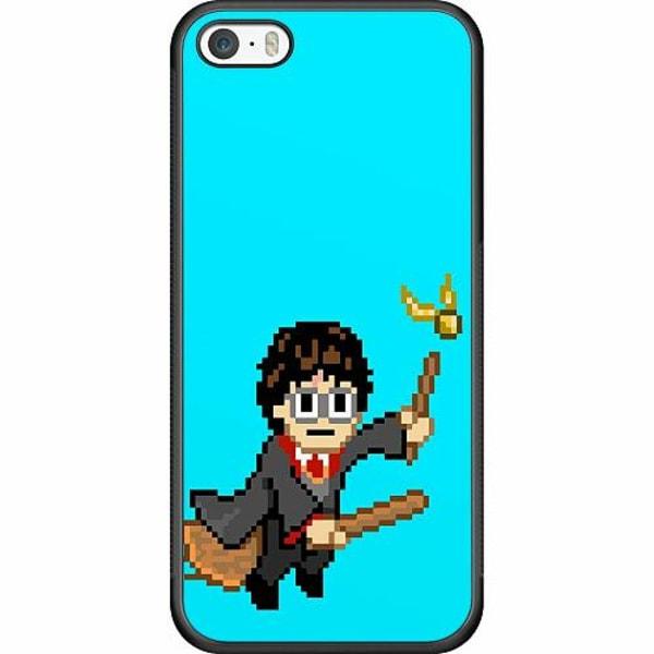 Apple iPhone 5 / 5s / SE Soft Case (Svart) Harry Potter