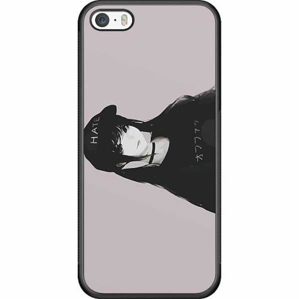 Apple iPhone 5 / 5s / SE Soft Case (Svart) Juice WRLD