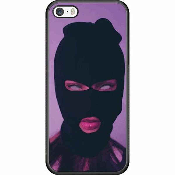 Apple iPhone 5 / 5s / SE Soft Case (Svart) Pussy Riot