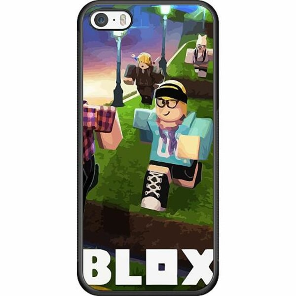 Apple iPhone 5 / 5s / SE Soft Case (Svart) Roblox