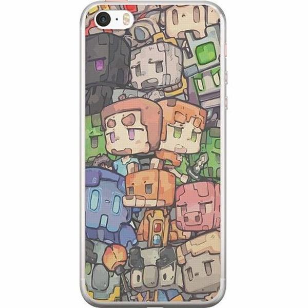 Apple iPhone 5 / 5s / SE Thin Case MineCraft