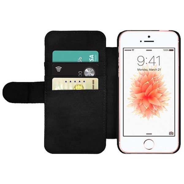 Apple iPhone 5 / 5s / SE Wallet Slim Case Ronaldo