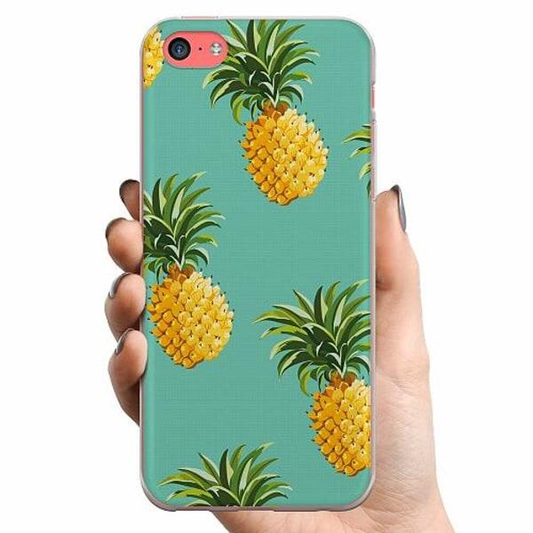 Apple iPhone 5c TPU Mobilskal Ananas
