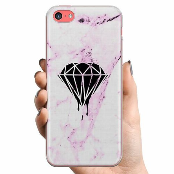 Apple iPhone 5c TPU Mobilskal Diamant