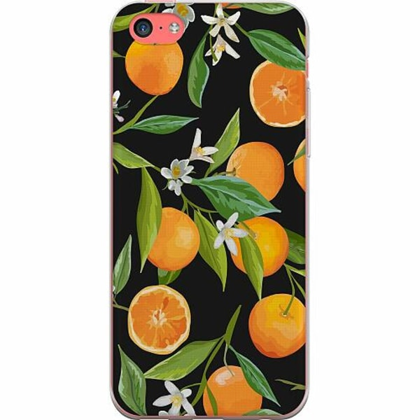 Apple iPhone 5c TPU Mobilskal Orange Juice