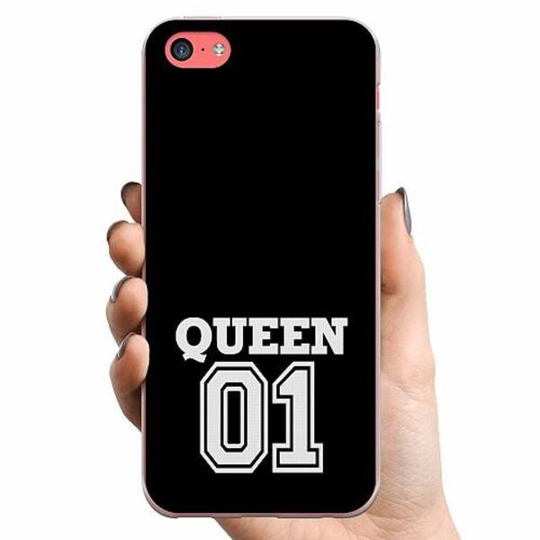 Apple iPhone 5c TPU Mobilskal Queen 01