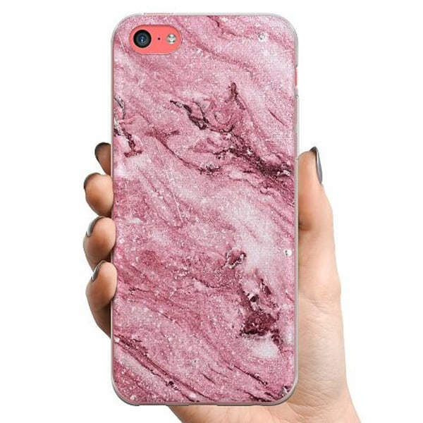 Apple iPhone 5c TPU Mobilskal Rosa
