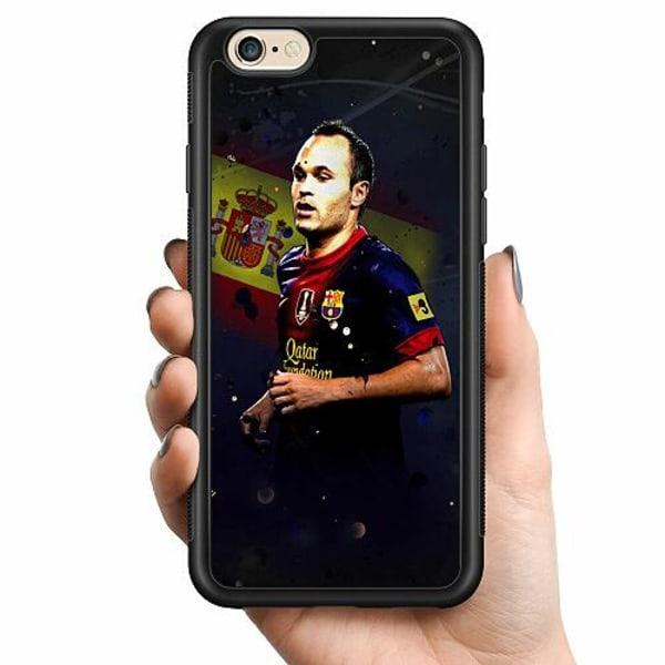 Apple iPhone 6 / 6S Billigt mobilskal - Andrés Iniesta