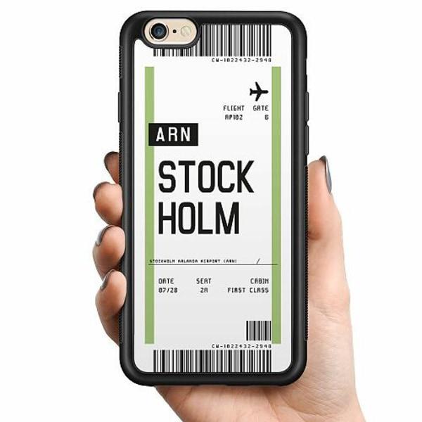 Apple iPhone 6 / 6S Billigt mobilskal - BOARDING PASS - ARN