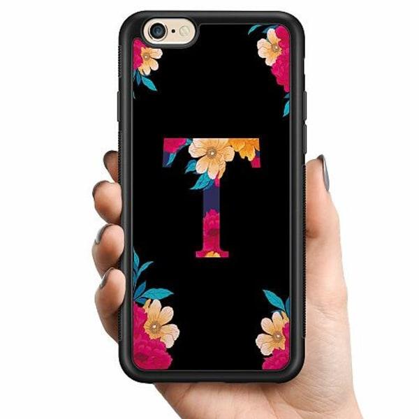 Apple iPhone 6 / 6S Billigt mobilskal - Bokstaven - T