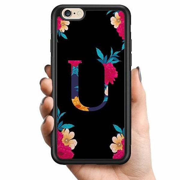 Apple iPhone 6 / 6S Billigt mobilskal - Bokstaven - U