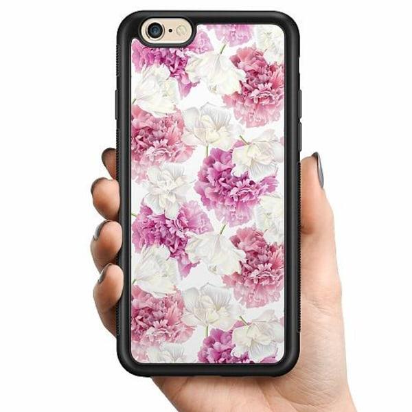 Apple iPhone 6 / 6S Billigt mobilskal - Fluffy Flowers