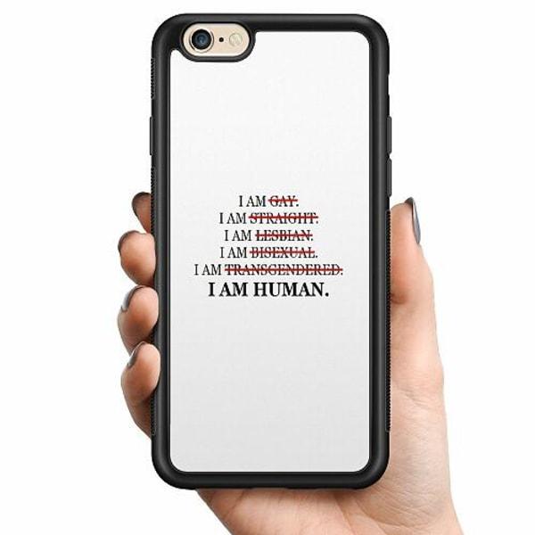 Apple iPhone 6 / 6S Billigt mobilskal - I AM HUMAN!