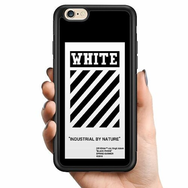 Apple iPhone 6 / 6S Billigt mobilskal - White Off