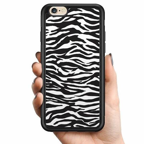 Apple iPhone 6 / 6S Billigt mobilskal - Zebra Mönster