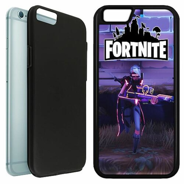 Apple iPhone 6 / 6S Duo Case Svart Fortnite