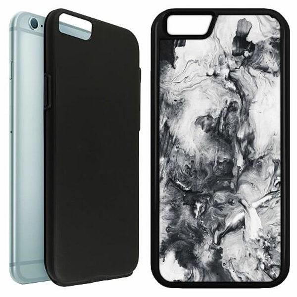 Apple iPhone 6 / 6S Duo Case Svart Mönster