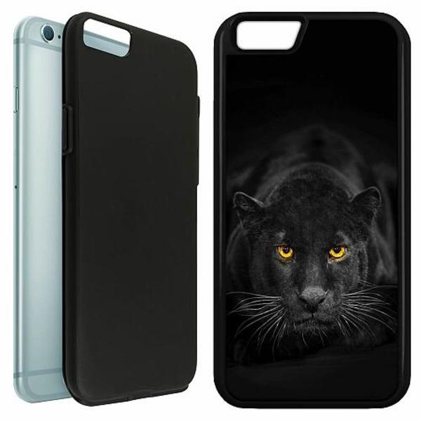 Apple iPhone 6 / 6S Duo Case Svart Panther