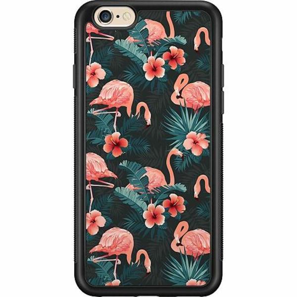 Apple iPhone 6 / 6S Billigt mobilskal - Flamingo Fever