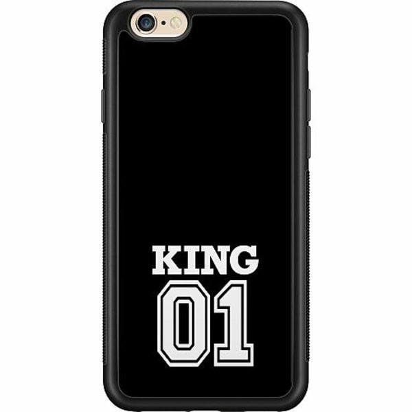 Apple iPhone 6 / 6S Billigt mobilskal - King 01