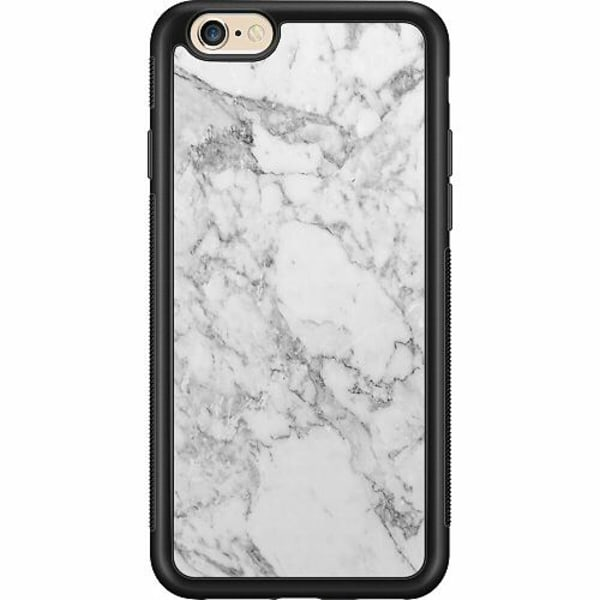 Apple iPhone 6 / 6S Billigt mobilskal - Marmor Vit