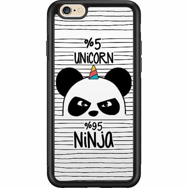 Apple iPhone 6 / 6S Billigt mobilskal - Ninja Panda With A Twist