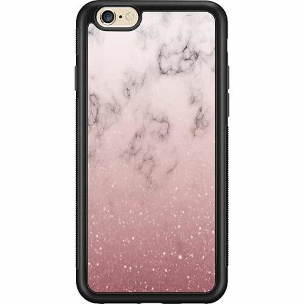 Apple iPhone 6 / 6S Billigt mobilskal - Soft Pink Marble