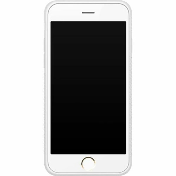 Apple iPhone 6 / 6S Soft Case (Vit) Grå