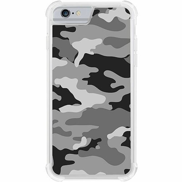 Apple iPhone 6 / 6S Tough Case Military B/W