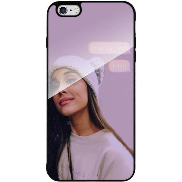 Apple iPhone 6 Plus / 6s Plus Mobilskal med Glas Ariana Grande