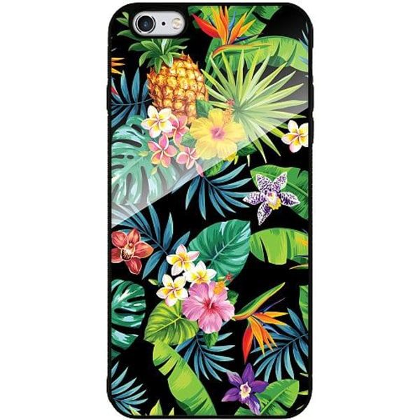 Apple iPhone 6 Plus / 6s Plus Mobilskal med Glas Tropical Vibe