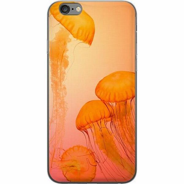 Apple iPhone 6 Plus / 6s Plus Thin Case Blood Orange Jelly