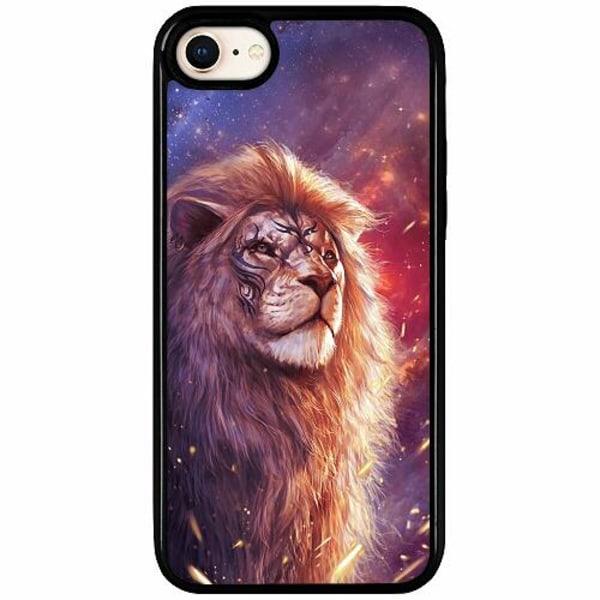 Apple iPhone 7 Duo Case Svart Lion
