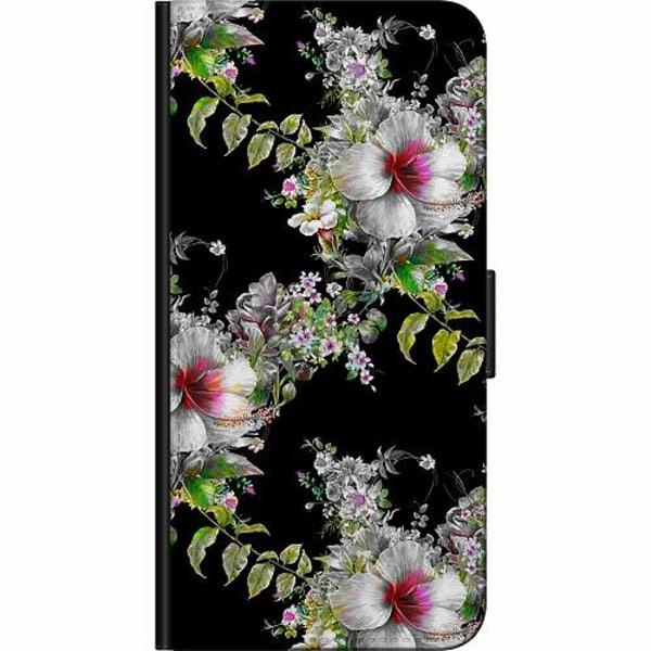 OnePlus 7T Pro Fodralväska Blommor