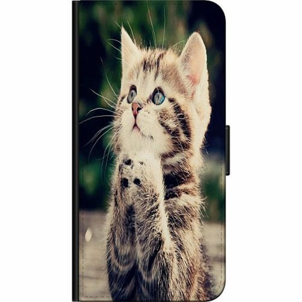 OnePlus 7T Pro Fodralväska Katt