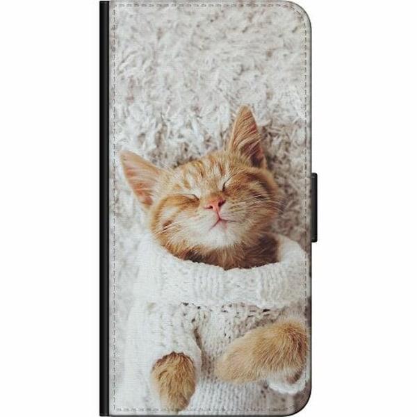 Huawei Y6 (2018) Fodralväska Kitty Sweater