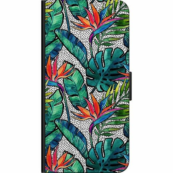 Samsung Galaxy S9+ Fodralväska Löv