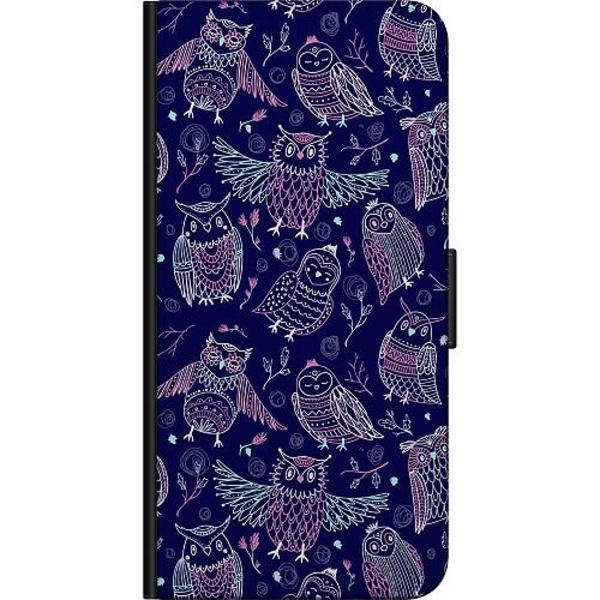 Huawei Y6 (2018) Fodralväska Owl