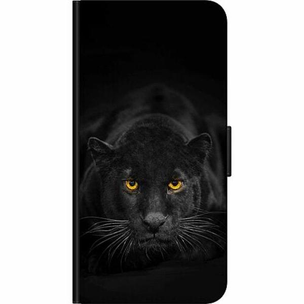 Apple iPhone 5 / 5s / SE Fodralväska Panther