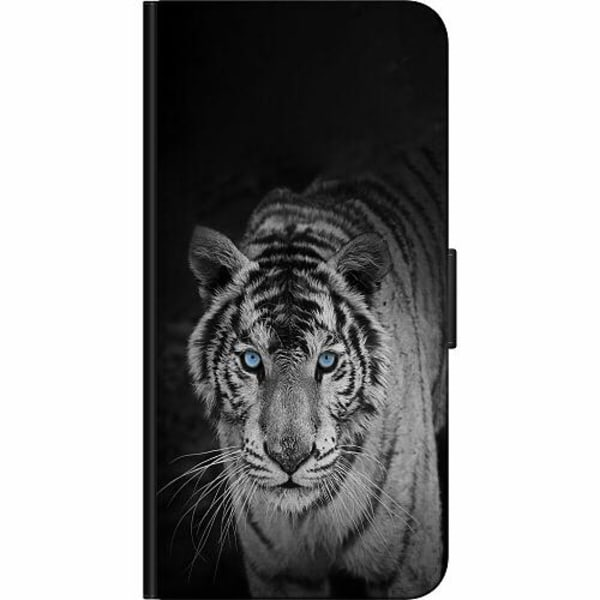 Huawei Y6 (2018) Fodralväska Tiger