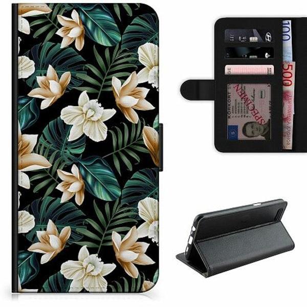 OnePlus 7 Lyxigt Fodral Blommor