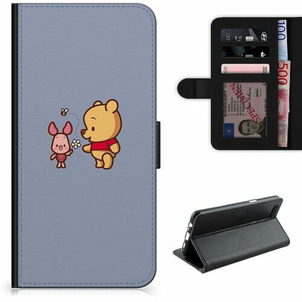 Apple iPhone 12 Pro Lyxigt Fodral Happy Bear With Tiny Pig
