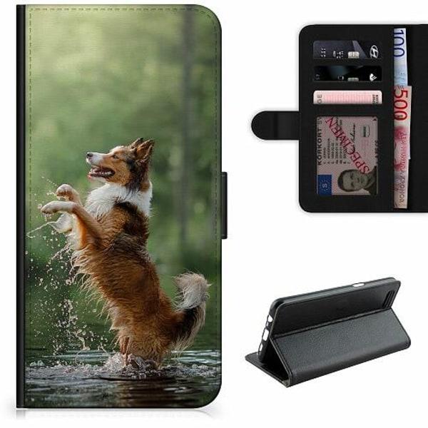 Samsung Galaxy S21+ Lyxigt Fodral Happy Dog