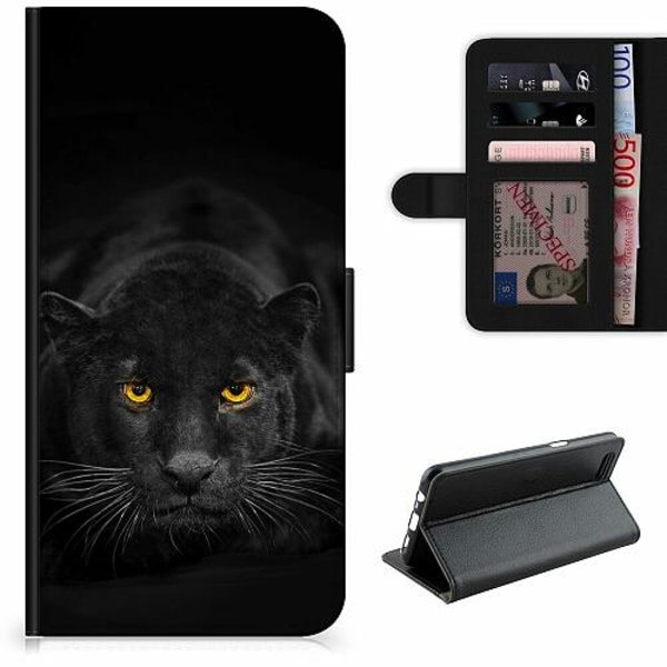 OnePlus 7T Pro Lyxigt Fodral Panther